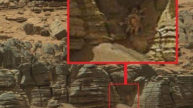 """Sự thật về dấu vết """"người ngoài hành tinh"""" được tìm thấy trên Sao Hỏa 1"""