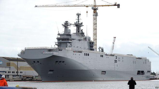 Thương vụ Mistral chính thức bị hủy, Pháp hoàn tiền toàn bộ cho Nga 1