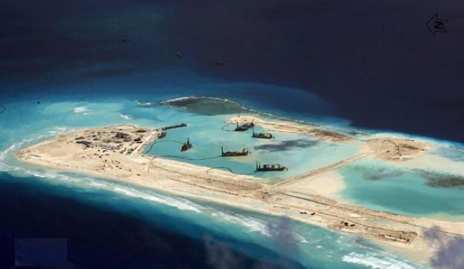 Trung Quốc tuyên bố đã ngừng bồi đắp ở Biển Đông 6