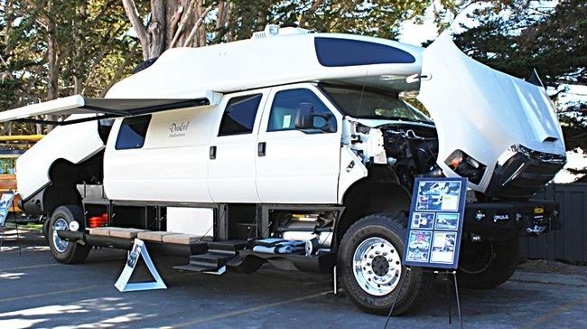 Độ xe bán tải Ford F750 thành ngôi nhà di động trị giá 6 triệu USD 1
