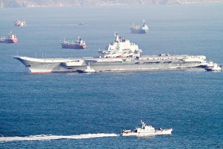 Báo Nga tiết lộ tham vọng của Hải quân Trung Quốc 1