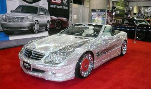 Lóa mắt trước những siêu xe lấp lánh ánh kim cương 2