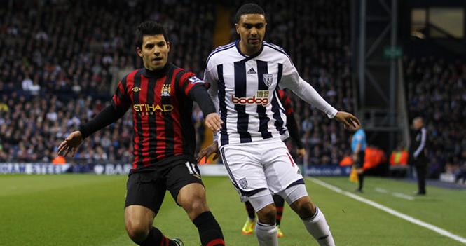 Kết quả trận đấu West Brom 0-3 Manchester City 1