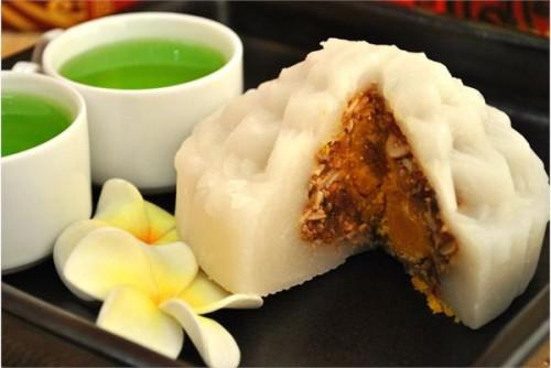 Hình ảnh Cách làm bánh dẻo nhân đậu xanh và thập cẩm thơm ngon số 11