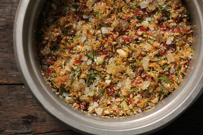 Hình ảnh Cách làm bánh nướng thập cẩm và trà xanh chào đón Trung thu số 4