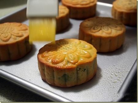 Hình ảnh Cách làm bánh nướng thập cẩm và trà xanh chào đón Trung thu số 10
