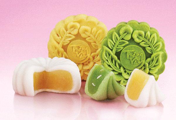 Hình ảnh Cách làm bánh nướng thập cẩm và trà xanh chào đón Trung thu số 13