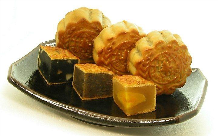 Hình ảnh Cách làm bánh nướng thập cẩm và trà xanh chào đón Trung thu số 1