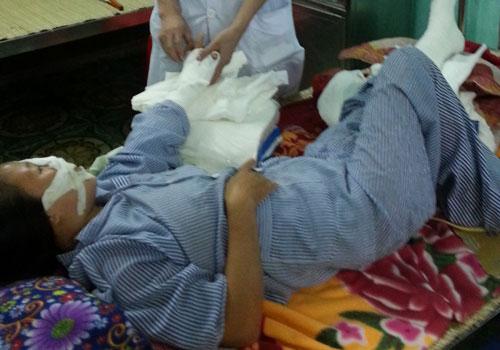 Diễn biến mới vụ bạo hành cắt gân tay, chân vợ ở Bắc Giang 1