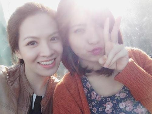 Cận cảnh nhan sắc cô em gái ruột xinh đẹp của MC Đan Lê 8