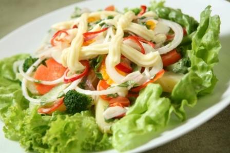 Cách làm salad trộn thơm ngon bổ dưỡng 8