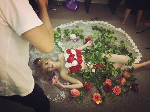 Facebook sao Việt: Thu Phương với vẻ đẹp không tuổi, Minh Hà xinh đẹp như công chúa 11
