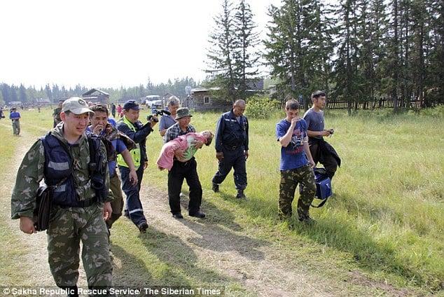 Sự phục hồi kỳ diệu của cô bé 4 tuổi ở 12 đêm trong rừng già Siberia 4