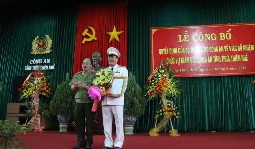 Công bố quyết định bổ nhiệm Giám đốc Công an tỉnh Thừa Thiên - Huế  1