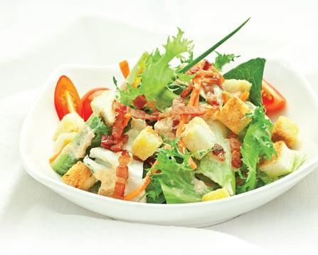 Hình ảnh Cách làm salad trộn thơm ngon bổ dưỡng số 1