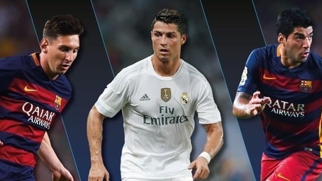 Suarez cạnh tranh Cầu thủ xuất sắc nhất châu Âu với Messi và Ronaldo 1