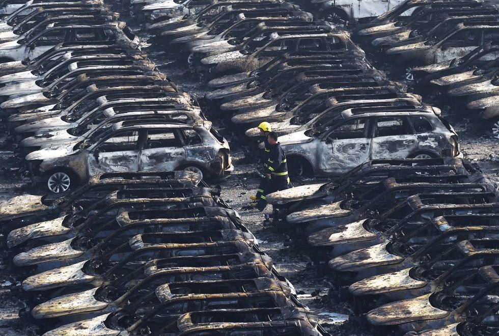 Hiện trường như ngày tận thế sau vụ nổ kinh hoàng tại Trung Quốc 8