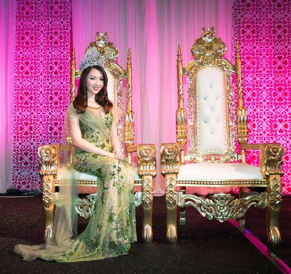 Hình ảnh Hoa hậu Jennifer Chung khoe vẻ đẹp lộng lẫy với váy dạ hội số 3