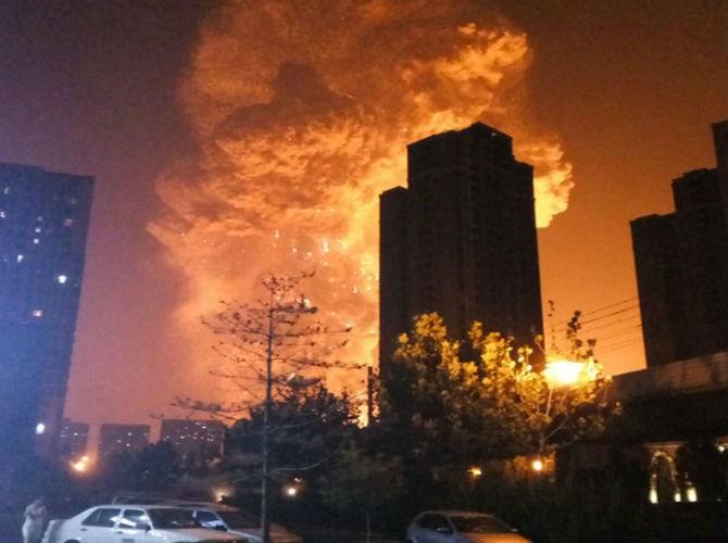 Những hình ảnh gây xúc động mạnh trong vụ nổ kinh hoàng ở TQ 2