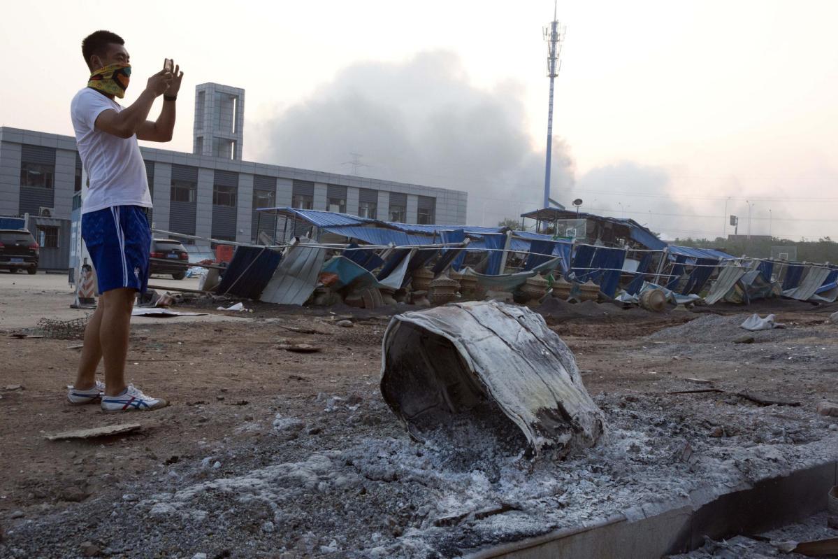 Hàng trăm người thương vong trong vụ nổ ở Trung Quốc 4