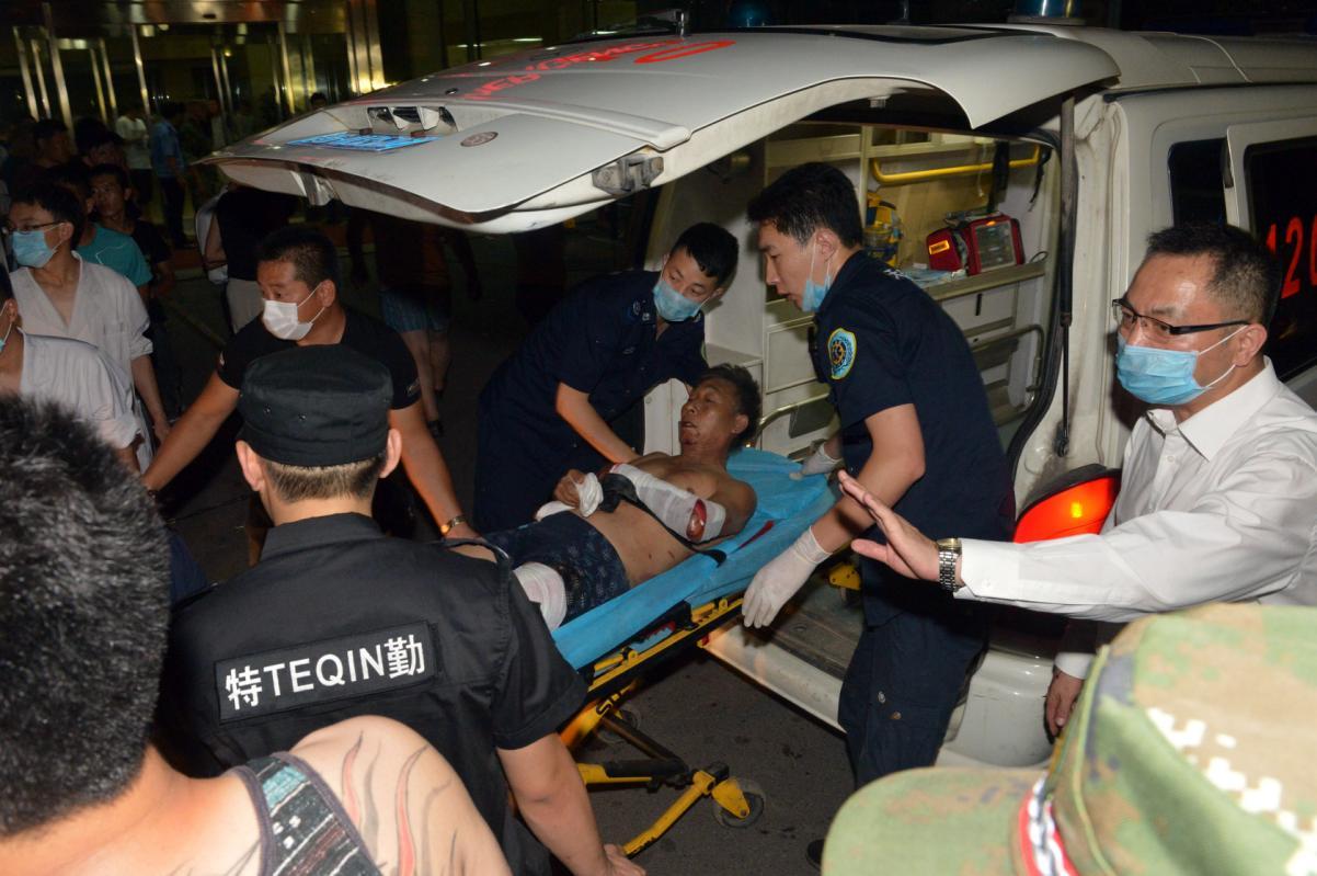 Hàng trăm người thương vong trong vụ nổ ở Trung Quốc 8
