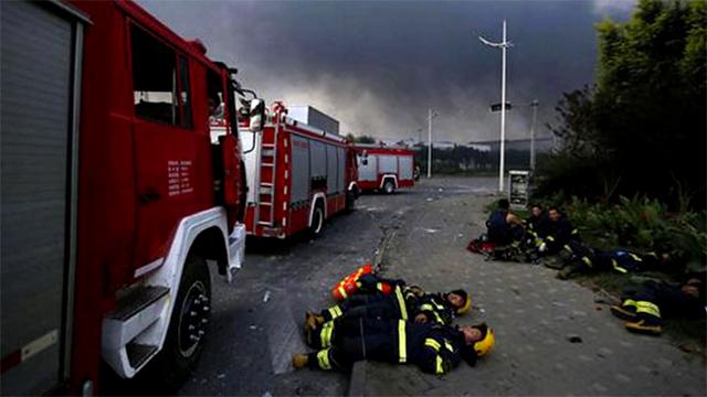 Tin nhắn trăng trối của lính cứu hỏa trong vụ nổ Thiên Tân 1