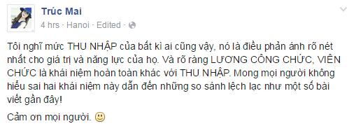 Sự thật về mức lương 2-3 triệu đồng/tháng của BTV Ngọc Trinh, Trúc Mai 2