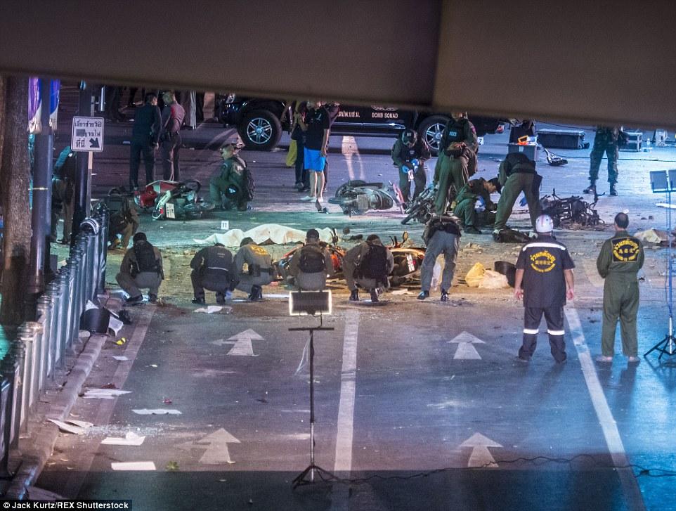Nổ ở Bangkok: Xuất hiện người phụ nữ bí ẩn, hiện trường tang thương 8