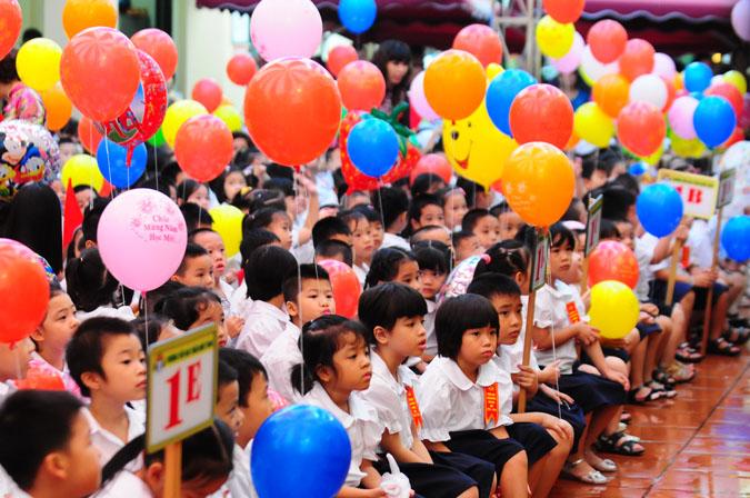 Lễ khai giảng năm học mới chỉ diễn ra trong 1 tiếng 1