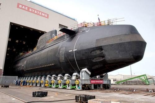 Anh bắt đầu thử tàu ngầm nguyên tử tàng hình HMS Artful