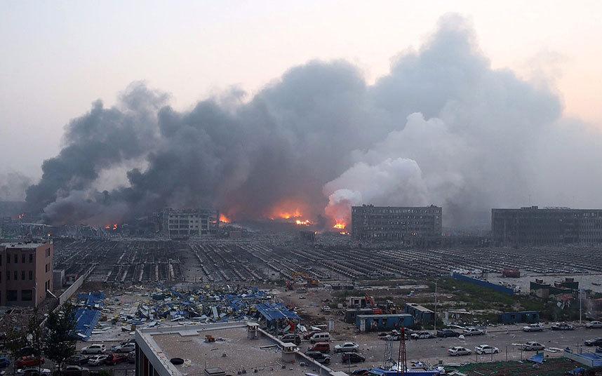 Trung Quốc bắt giữ 10 người liên quan đến vụ nổ Thiên Tân 1