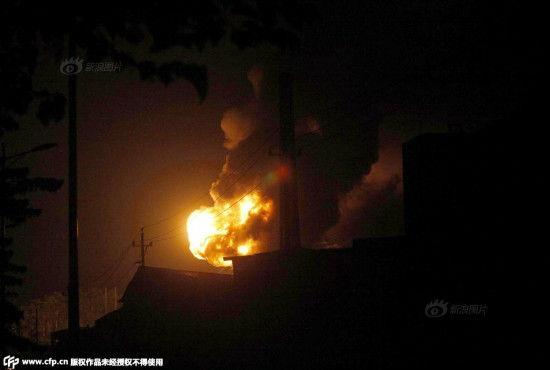 Nhà máy Trung Quốc lại bốc cháy sau vụ nổ ở Thiên Tân 7
