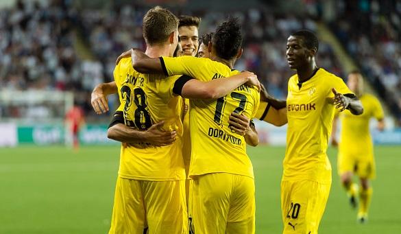 Dortmund ngược dòng khó tin ở lượt đi vòng play-off Europa League 1