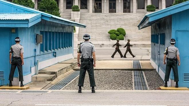 Cận cảnh Bàn Môn Điếm: Làng đình chiến Triều Tiên - Hàn Quốc 3