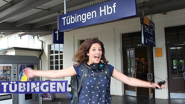 Nữ sinh Đức sống trên xe lửa nửa năm