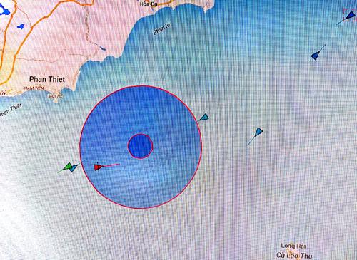 Tàu chìm, 7 thuyền viên mất tích 1