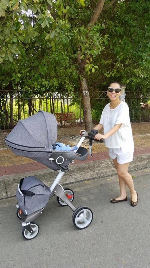 Facebook sao Việt: Phan Hiển tâm sự với con trai 2