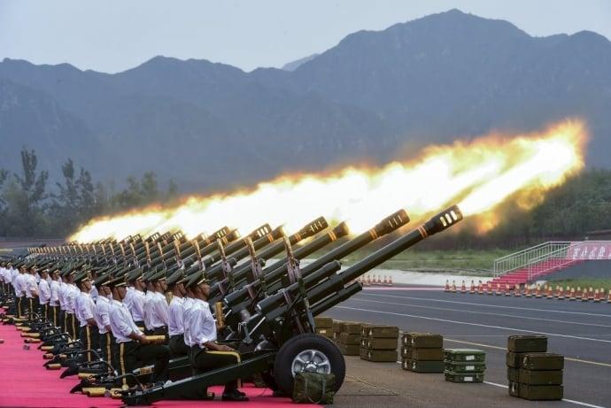 Trung Quốc tổ chức duyệt binh lớn để cảnh cáo Mỹ 4