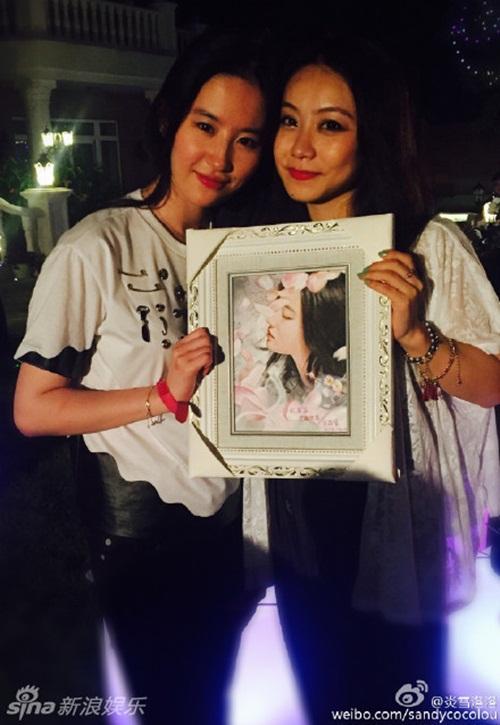 Lưu Diệc Phi phủ nhận tin đồn từ chối lời cầu hôn của Song Seung Hun 3