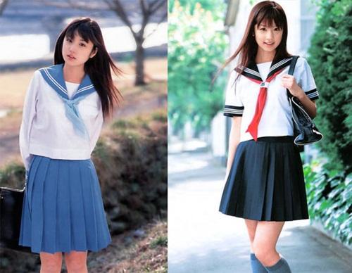 Ngắm đồng phục dễ thương của nữ sinh các nước châu Á 5