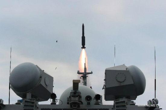 Ảnh hải quân Trung Quốc tập trận bắn đạn thật trên biển Hoa Đông 1