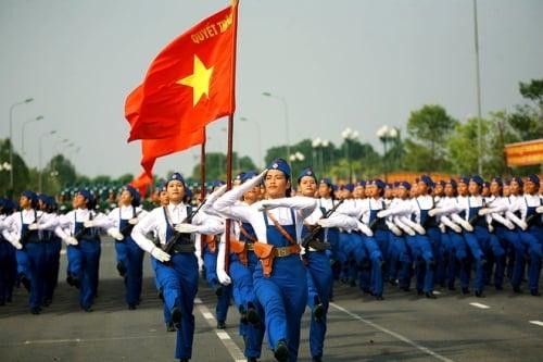 Diễu binh, duyệt binh, diễu hành khác nhau như thế nào? 2