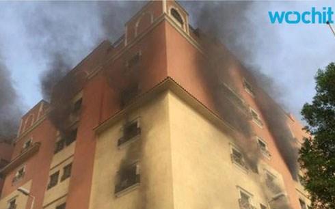Hình ảnh Cháy lớn tại Ả Rập Saudi, hơn 200 người thương vong số 1