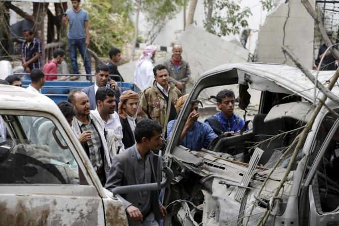 36 dân thường thiệt mạng vì không kích tại Yemen 2