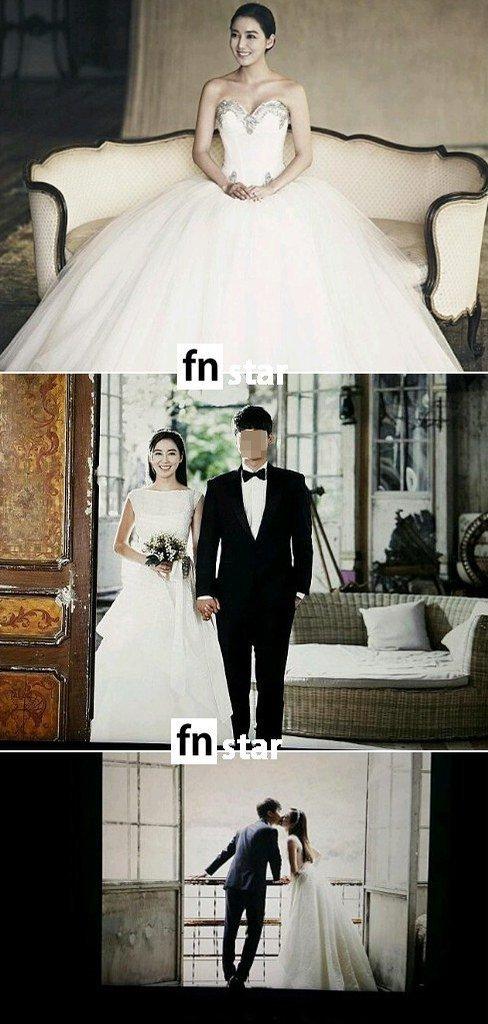 Nữ diễn viên phim Dong Yi hé lộ ảnh cưới và thiệp mời 4