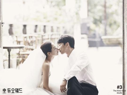 Nữ diễn viên phim Dong Yi hé lộ ảnh cưới và thiệp mời 2
