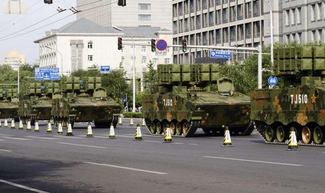Hình ảnh Những vũ khí tân tiến lần đầu xuất hiện trong lễ duyệt binh Trung Quốc số 4
