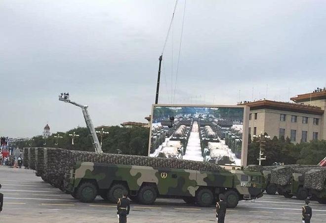 Hình ảnh Những vũ khí tân tiến lần đầu xuất hiện trong lễ duyệt binh Trung Quốc số 7