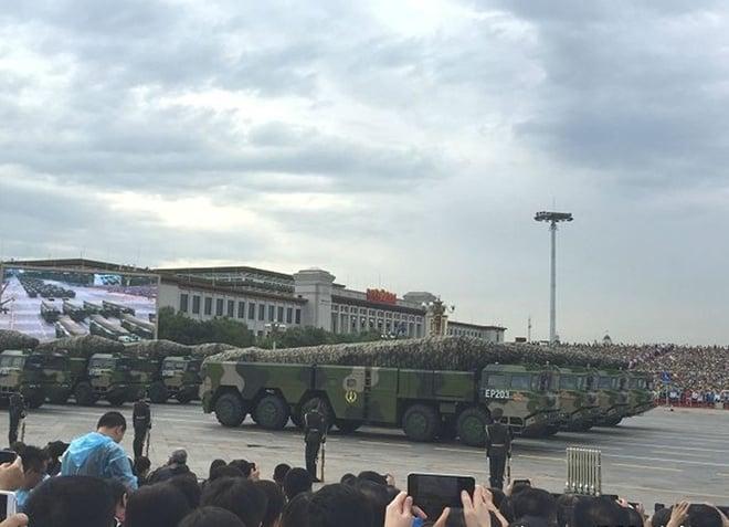 Hình ảnh Những vũ khí tân tiến lần đầu xuất hiện trong lễ duyệt binh Trung Quốc số 8