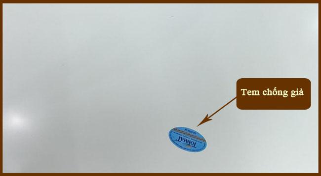 Phương pháp nhận biết hàng TONMAT chính hãng 6